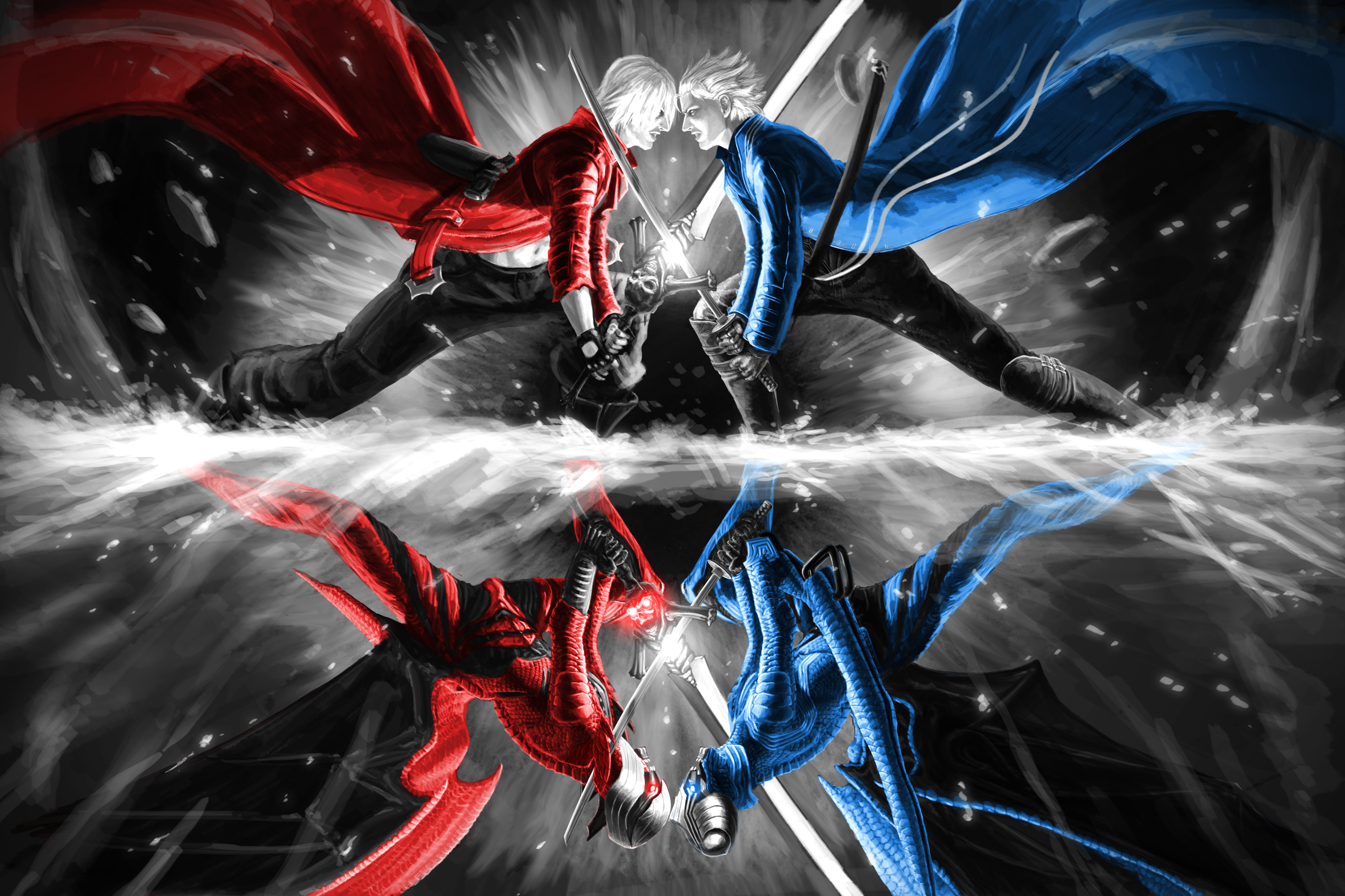 Vergil Yamato Sword Hd Wallpaper: Devil May Cry Wallpapers HD