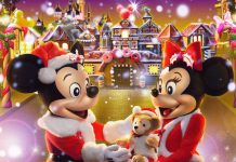 Disney Christmas Background.