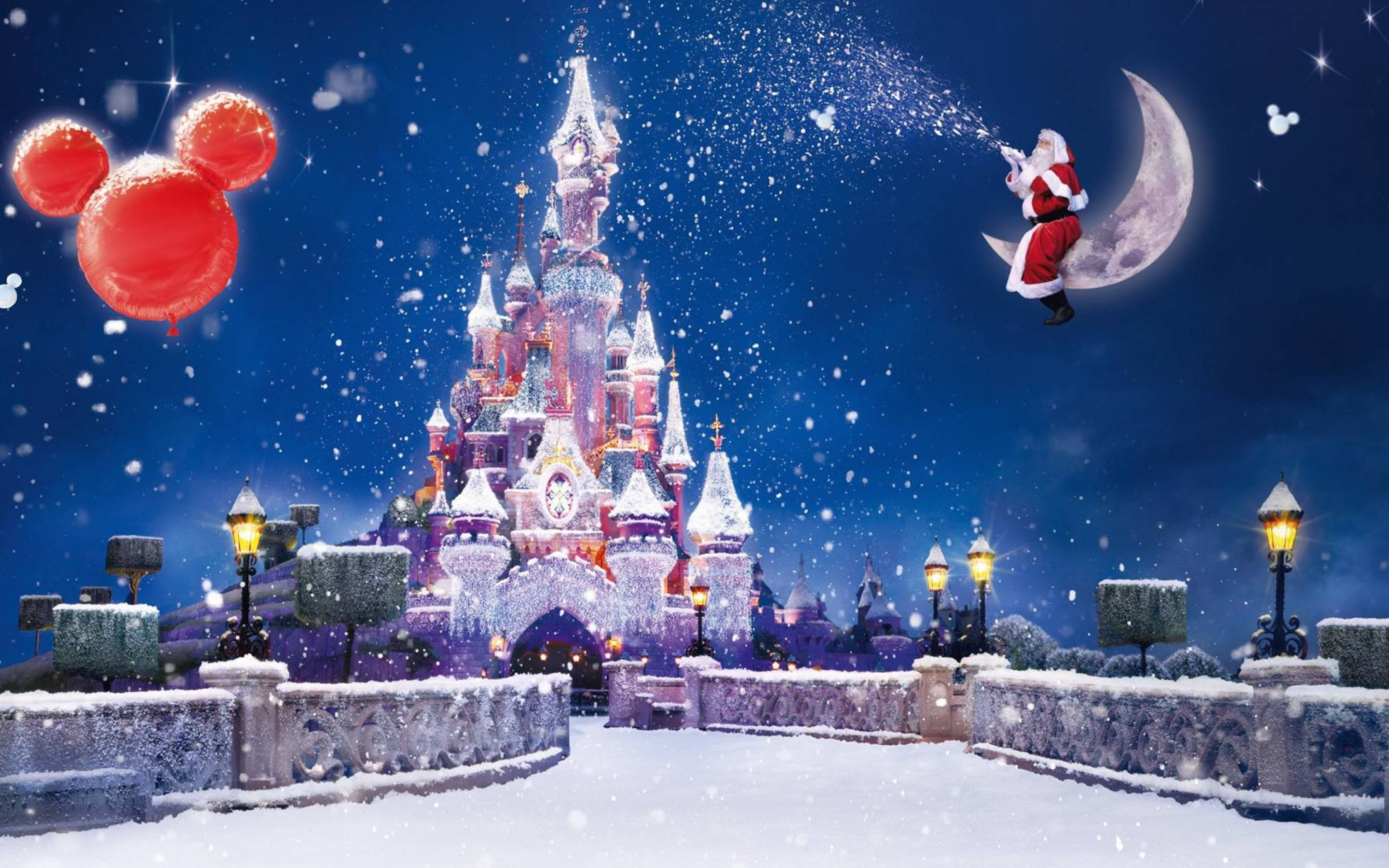 Disney Christmas Wallpapers Hd Pixelstalk Net