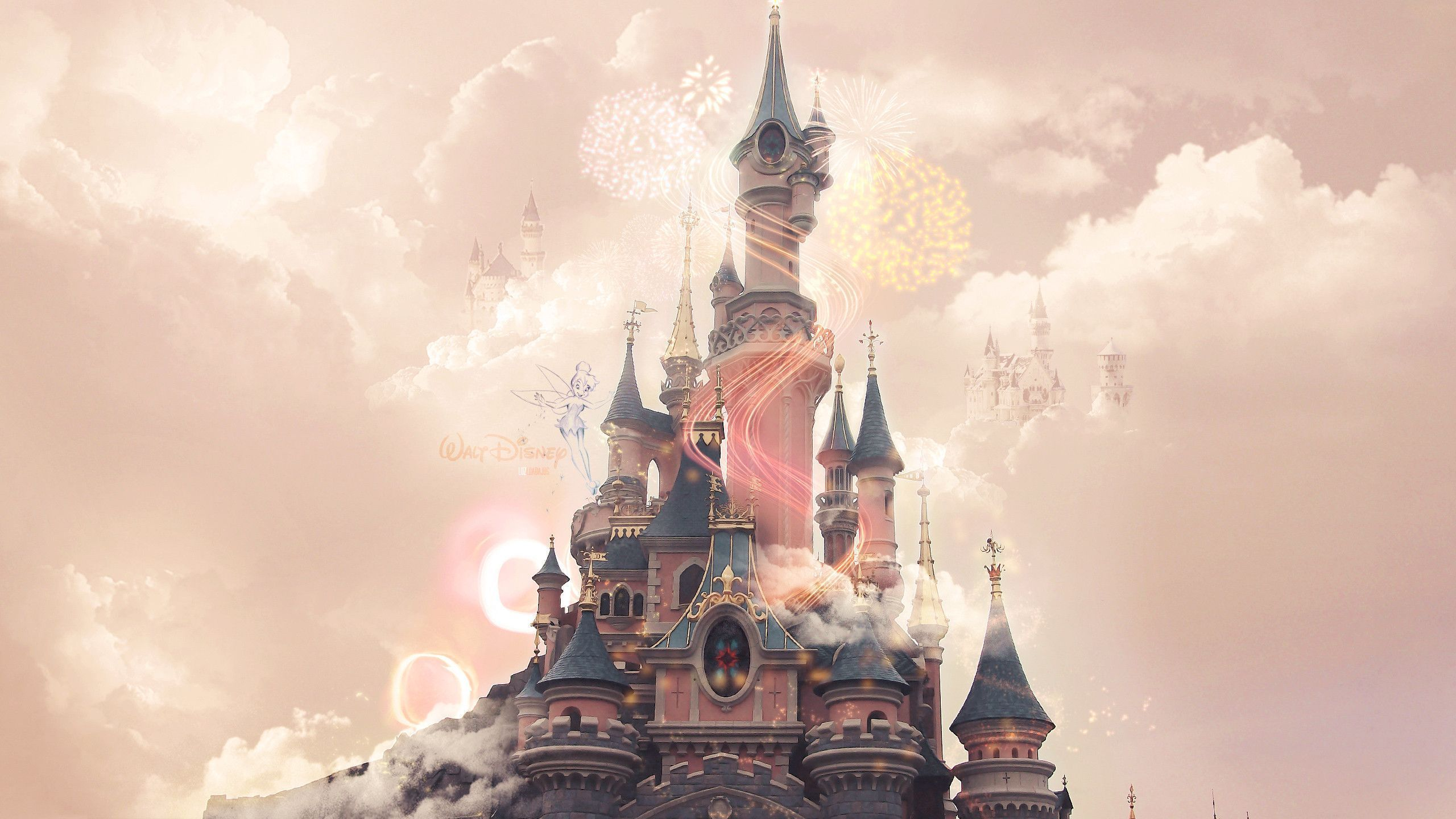 Disney castle background hd download media file pixelstalk view image larger and download voltagebd Image collections