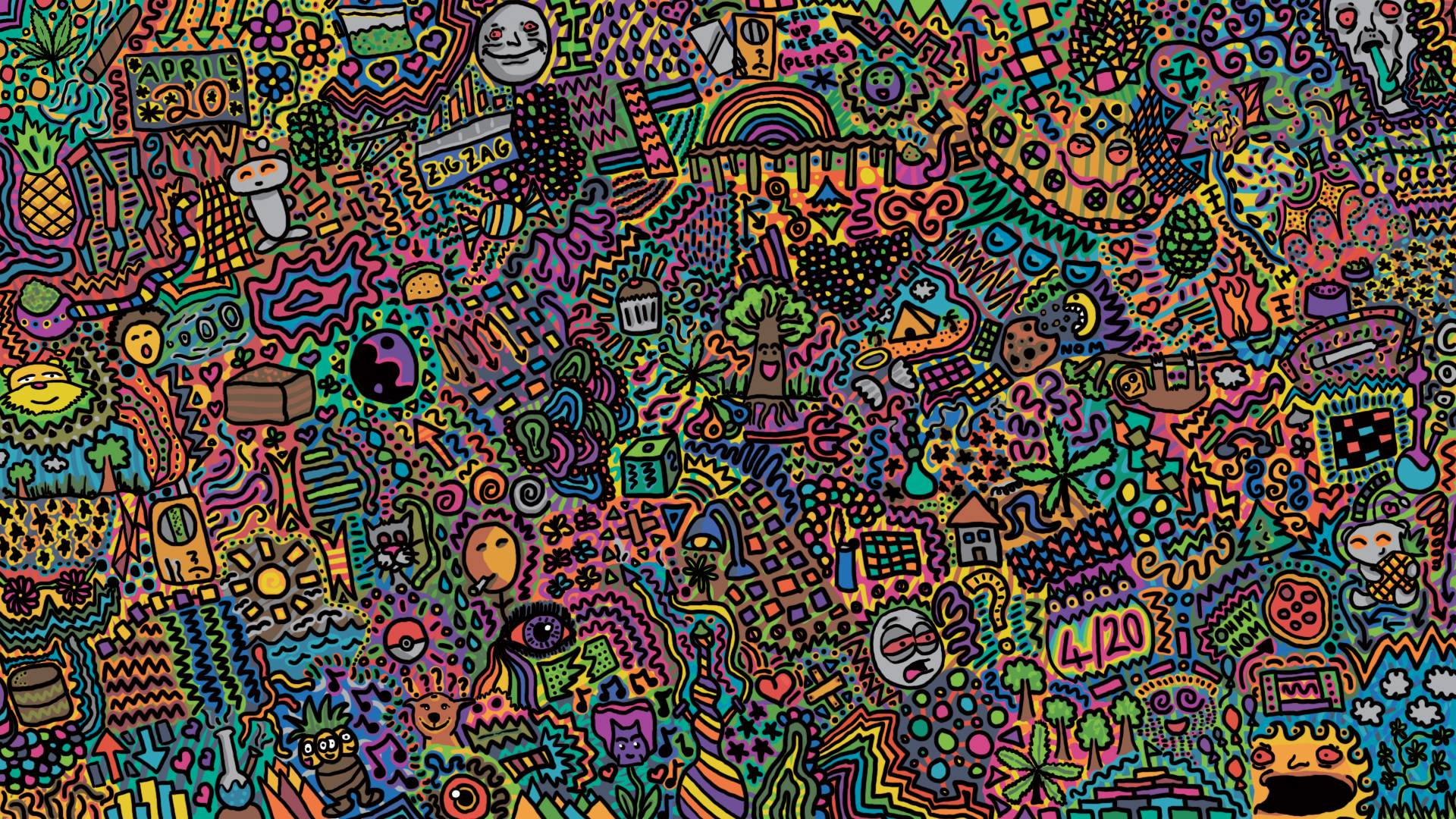 Doodle backgrounds hd pixelstalk net - Doodle desktop wallpaper ...