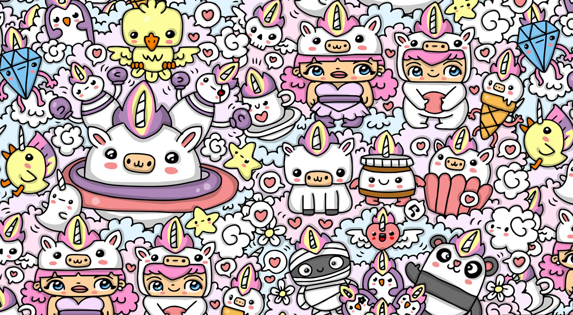 Doodle wallpapers free download pixelstalk net - Doodle desktop wallpaper ...