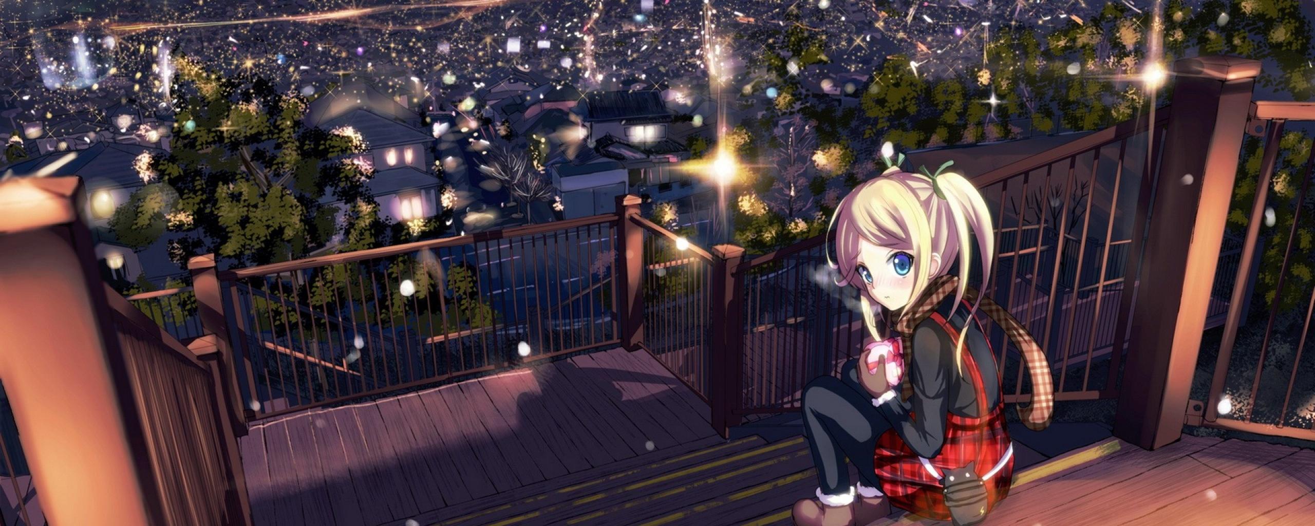 Anime Dual Monitor Backgrounds Free Download Pixelstalk Net