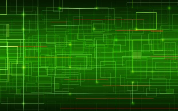 Abstract green electronic wallpaper 1920x1200.
