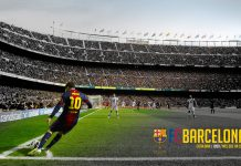 Camp Nou HD Wallpaper.