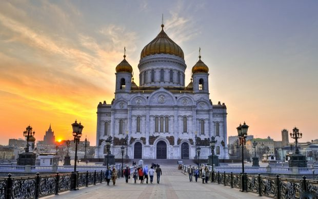 Cathedral of christ the saviour photos.