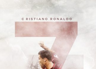 Cristiano Ronaldo iPhone Full HD Background.