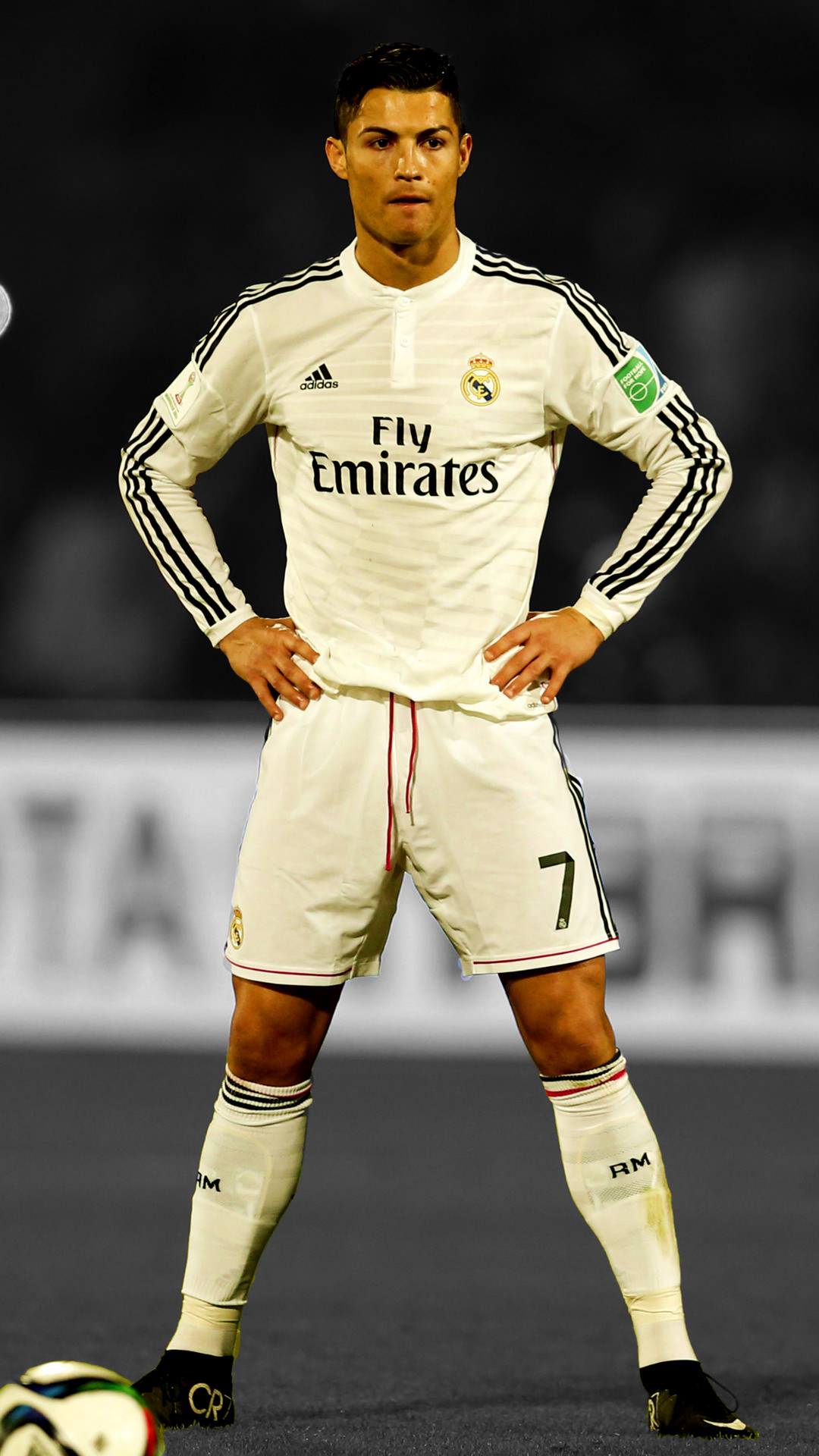 Cristiano Ronaldo IPhone HD Background.