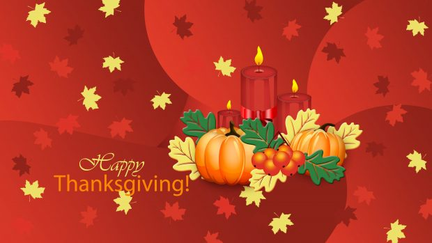 Cute Thanksgiving HD Background.