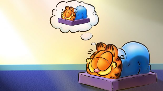 Free Desktop Garfield Backgrounds.