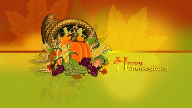 HD Cute Thanksgiving Background.