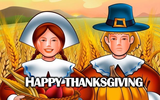Wonderful Cute Thanksgiving Wallpaper.