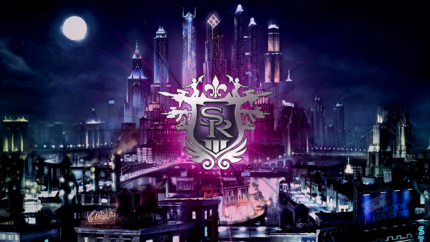 City buiding logo saints row wallpaper.