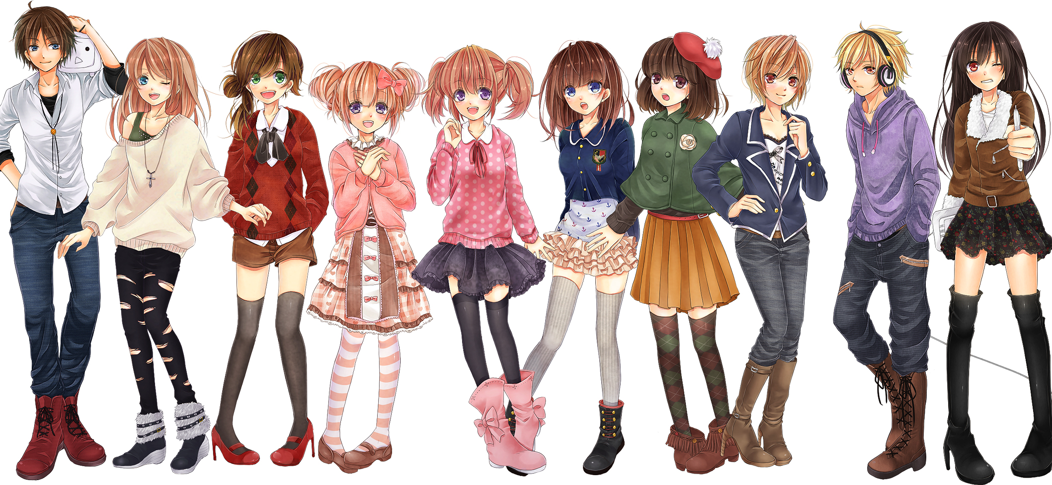 Girl Style For Anime