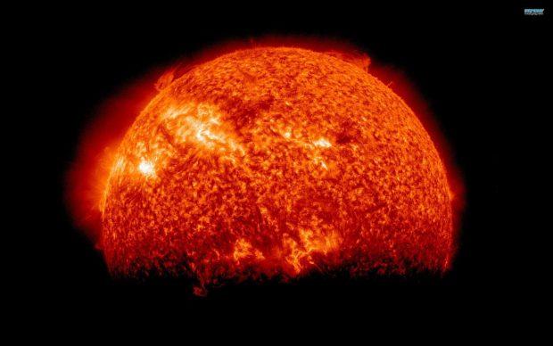 Red Sun HD Wallpaper 3.