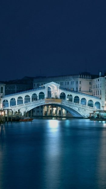 Venice Italy Architecture Building Bridge Live iPhone backgrounds x wallpaper