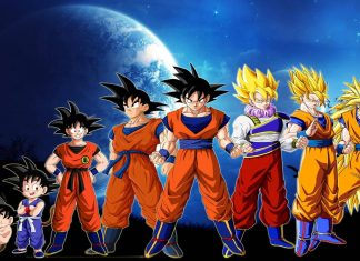 Awesome dragon ball z wallpaper.