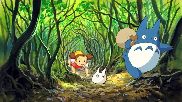 Backgrounds download Totoro wallpapers HD.