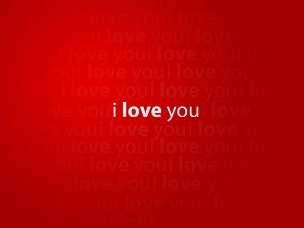 I love you red wallpapers.