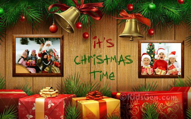 Its Christmas Time.