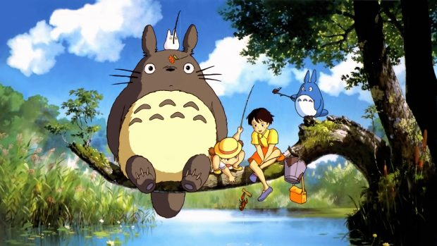 Totoro wallpapers HD pictures images.