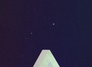 Triangle minimalist phone wallpapers.