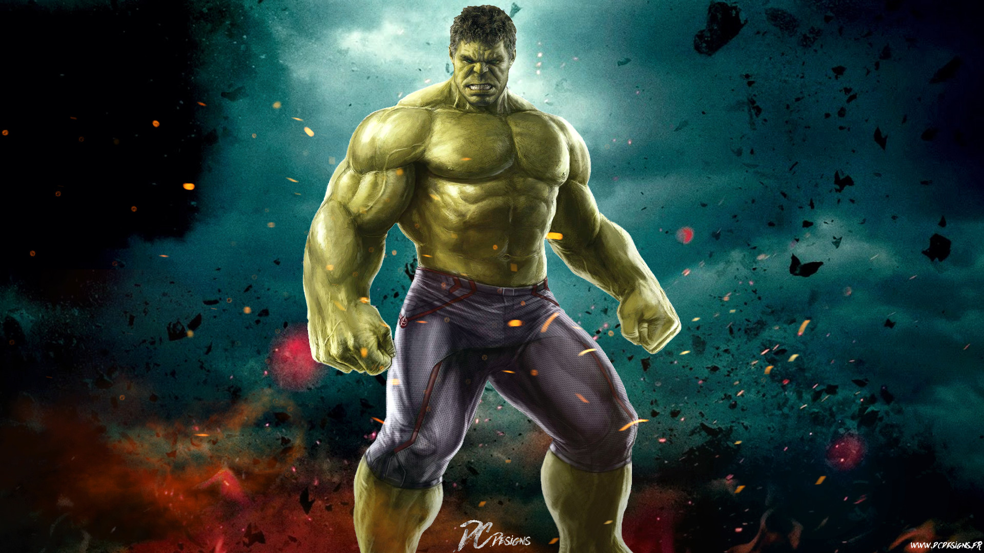 1920x1080 Hulk Wallpaper Free Download 2.