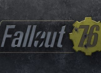 Fallout 76 Logo wallpaper.