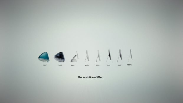 IMac Evolution Apple Background.
