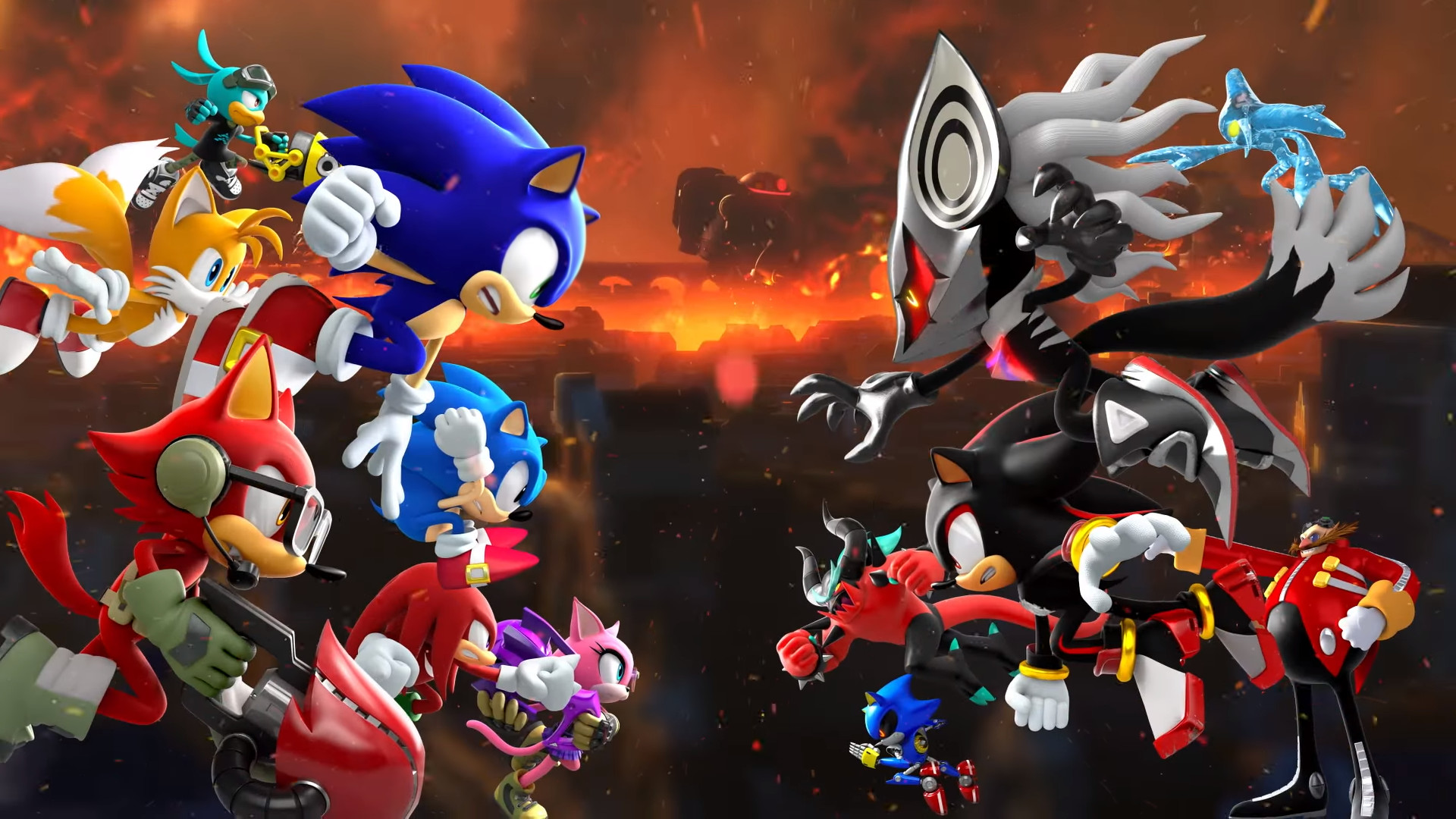 Sonic Forces HD Wallpaper 2.