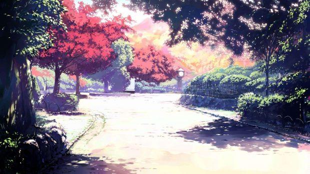 4K Anime Landscape Wallpaper.