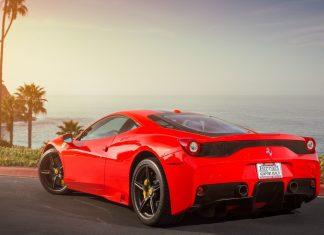 4K Ferrari Wallpaper for Desktop.