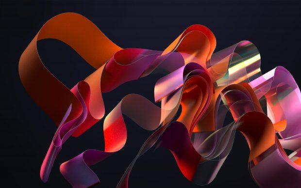 Abstract Windows 11 Desktop Wallpaper.