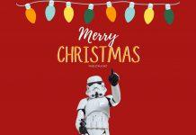 Star Wars Christmas Wallpaper for Desktop.