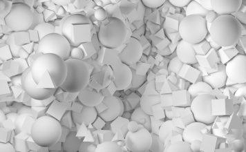 White 3D Wallpaper Desktop.