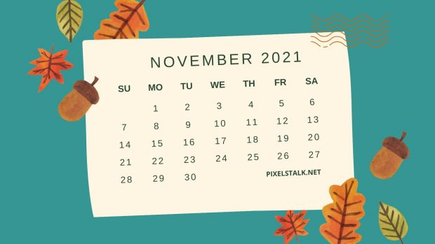 2021 November Wallpaper.